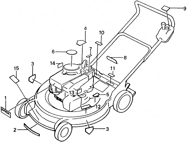 Self Propelled Mower Diagram Com